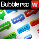 speech-chat bubbles Layered PSD - GraphicRiver Item for Sale