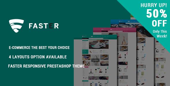 Faster – Responsive Prestashop Theme (Shopping)