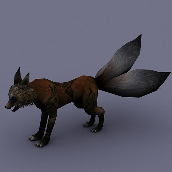 fox brown - 3DOcean Item for Sale