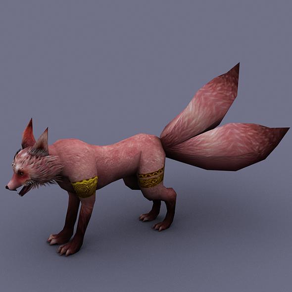 fox pink 2 - 3DOcean Item for Sale