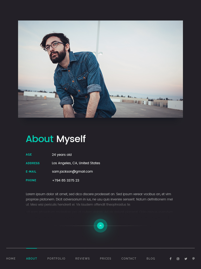 supersonic creative resume cv psd template by scientecraftdesign supersonic creative resume cv psd template