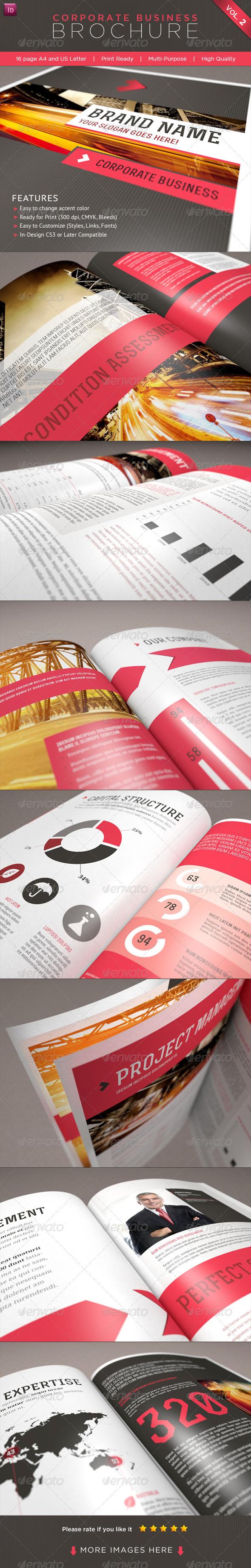 GraphicRiver Professional Corporate Business Brochure Vol 2 1832317