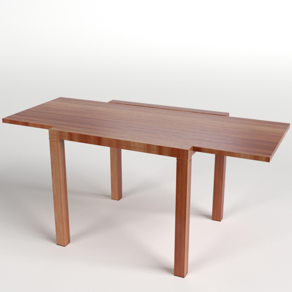 Extended Table - 3DOcean Item for Sale