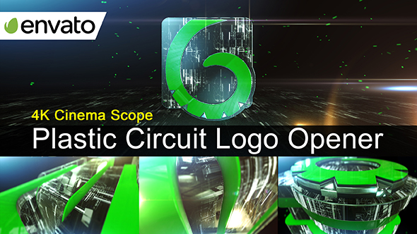 Download Plastic Circuit Logo Opener / Element 3D nulled download