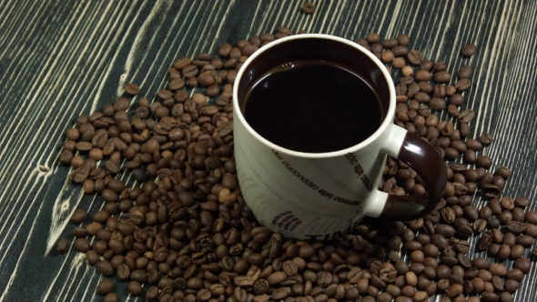 VideoHive Cup of Coffee with Grains 18926696
