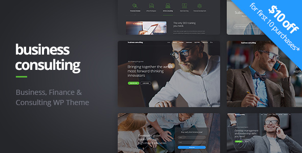 Enterprise Consulting – Coaching, Enterprise Education &amp Consulting WordPress Theme (Enterprise)