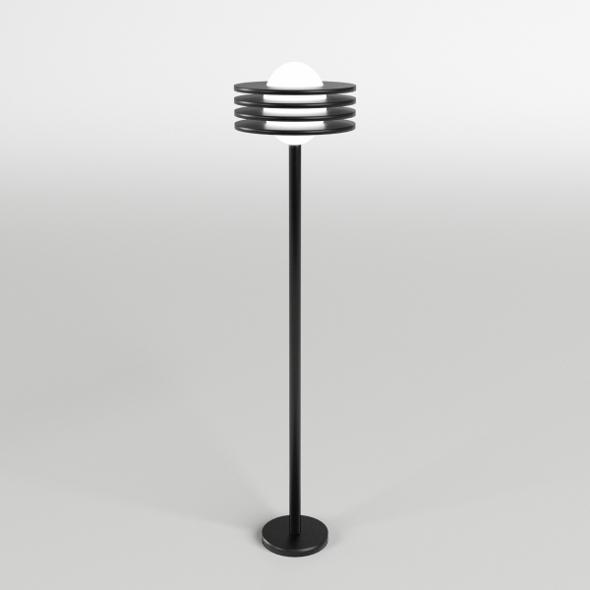 Garden Floor Lamp 1 - 3DOcean Item for Sale