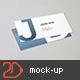 90x50 Business Card Mockup