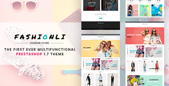 Fashionli – Fashion PrestaShop Theme