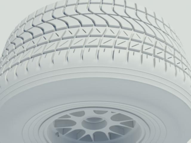 3DOcean Pirelli wet tyre 1861957