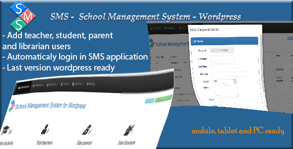 Download School Management System for WordPress nulled download
