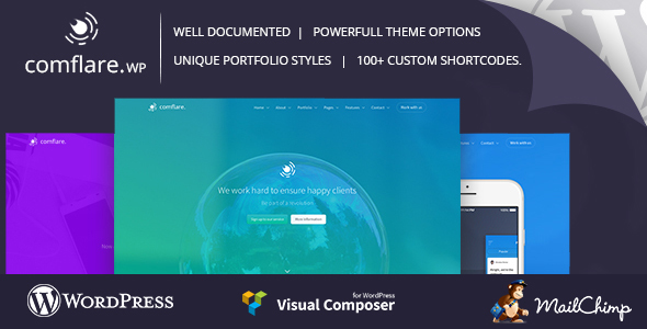 Download Comflare - Multipurpose WordPress Theme nulled download