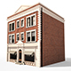 Apartment Building 157 Low Poly 3d Model