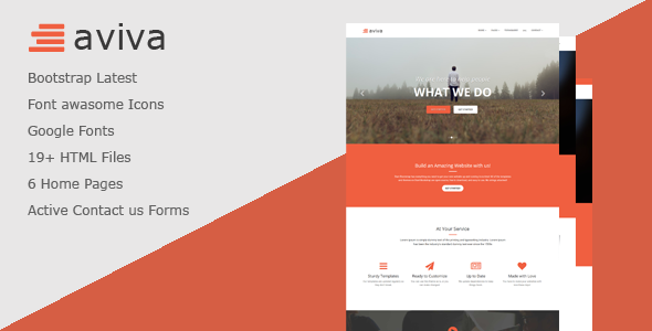 Aviva - Multipurpose HTML Template