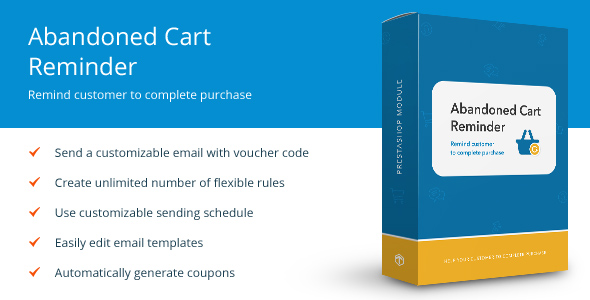 Abandoned Cart Reminder - Prestashop module