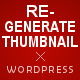 WordPress Real Thumbnail Generator - Bulk Regenerate Thumbnails / Upload folder