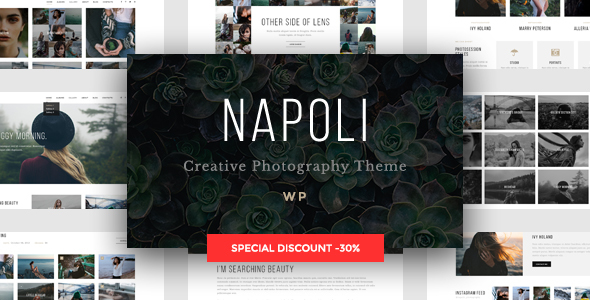 Download Napoli - Modern Photography Portfolio Theme nulled download