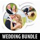 4 in 1 Wedding CD Cover Templates Bundle