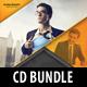 3 Corporate Business CD Cover Artwork Bundle V3