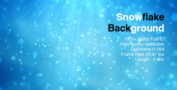 Download Snowflake Background nulled download