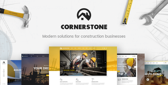 Download Cornerstone - A Professional Construction, Builder & Contractor Theme nulled download