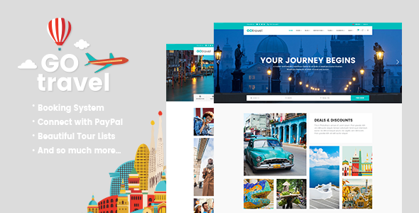 Download GoTravel - A Travel Agency & Tourism Theme nulled download