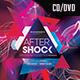 After Schock CD/ DVD PSD Template