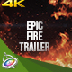 Epic Fire Trailer - Apple Motion