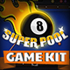 Super Pool - Billiard Game Kit