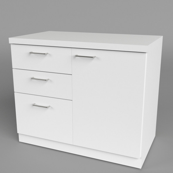 Office Chest of Drawers 1 - 3DOcean Item for Sale