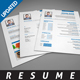 Clean Resume Template 1