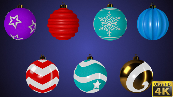 Download Spinning Christmas Balls Pack nulled download