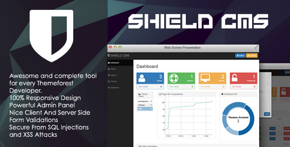 Download SHIELD - Content Management System nulled download