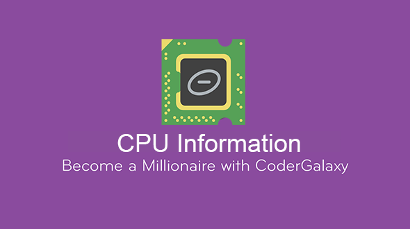 CPU Information and facts &amp CPU Z (Complete Applications)