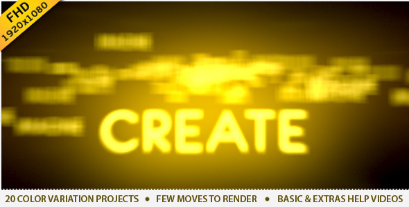 After Effects Project - VideoHive Travel Through Light 20 Projects 1843584