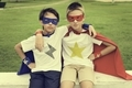 Superheroes Kids Brother Friends Costume Concept
