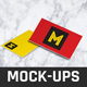 Rocko Business Card Mocok-Ups