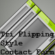 Tri Flipping Style PHP/XML Contact Form - ActiveDen Item for Sale