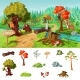 Forest Elements Concept