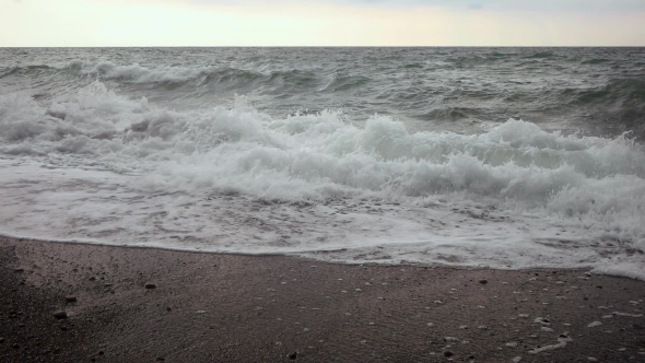 VideoHive Sea Shore Black Sea Waves 18949787