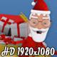 Santa Claus Sleigh Transition
