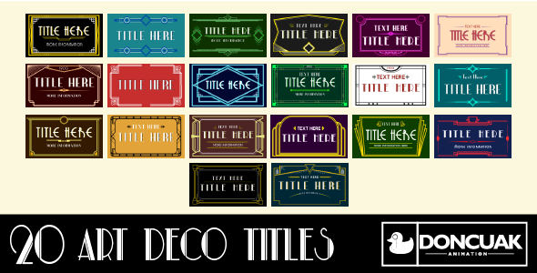 Download 20 Art Deco Titles nulled download