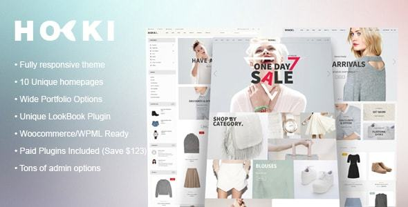 Download HOKI - Multi-Purpose Responsive WordPress & WooCommerce Theme nulled download