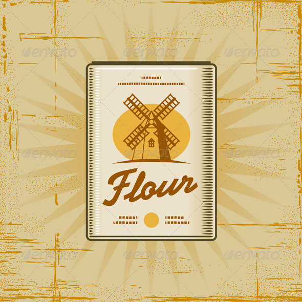 Retro Flour Pack