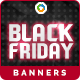 Black Friday Banners - Image Included