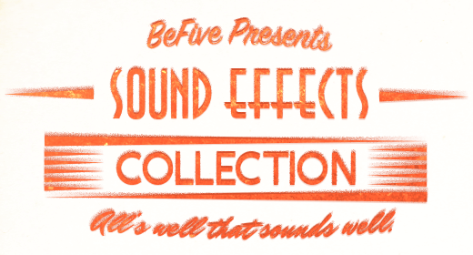 BeFive Game Sound Effects Collection