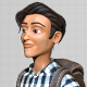 Male Cartoon Character Model