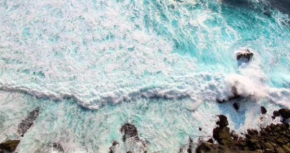 VideoHive Aerial Footage of Incredible Ocean Waves 18956259