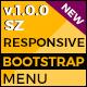 SZ Bootstrap Responsive Menu v1.0.0