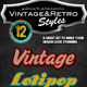 Vintage Retro Photoshop Styles - GraphicRiver Item for Sale